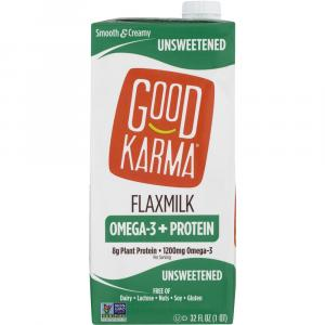 Good Karma Unsweetened Flax Milk