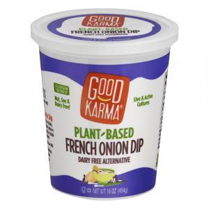 Good Karma Plant Based French Onion Dip Dairy Free
