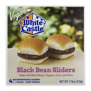 White Castle Vegan Microwavable Black Bean Sliders