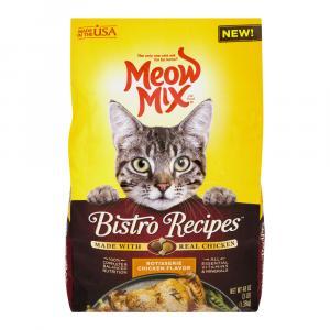Meow Mix Bistro Rotisserie Chicken Cat Food