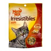 Meow Mix Irresistibles Soft with Real White Meat Chicken