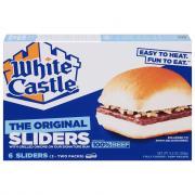 White Castle Microwave Hamburgers