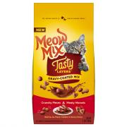 Meow Mix Tasty Layers Gravy-Coated Mix Beef Au Jus