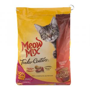 Meow Mix Tender Centers Salmon & Chicken Flavors