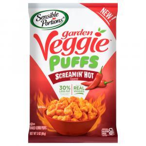 Sensible Portion Garden Veggie Puffs Screamin' Hot