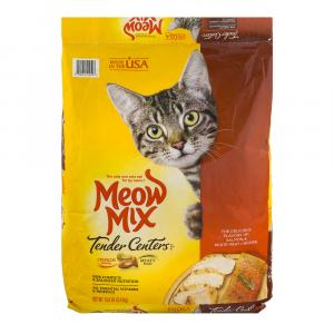 Meow Mix Tender Centers Salmon and White Meat Chicken