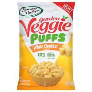 Sensible Portion Garden Veggie Puffs White Cheddar