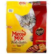 Meow Mix Tender Centers Basted Bites Cat Food