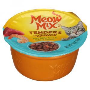Meow Mix Tender Tuna & Shrimp Cat Food