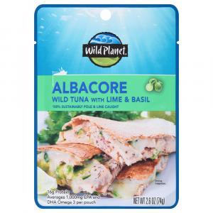 Wild Planet Albacore Wild Tuna with Lime & Basil