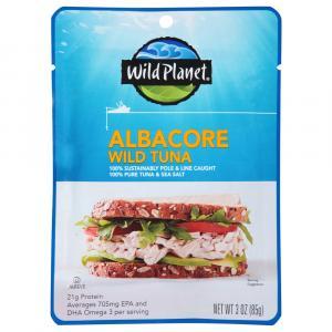 Wild Planet Albacore Wild Tuna Pouch