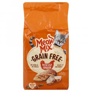 Meow Mix Grain Free with USA Chicken Dry Cat Food