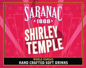 Saranac Shirley Temple Soda