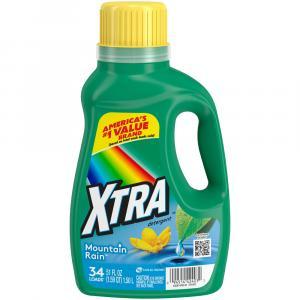 Xtra Mountain Rain Liquid Detergent