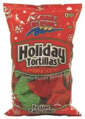 Holiday Tortilla Chips