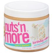 Nuts' N More Birthday Cake Peanut Spread