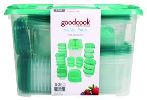 Goodcook 50 Piece Value Pack Food Storage Set