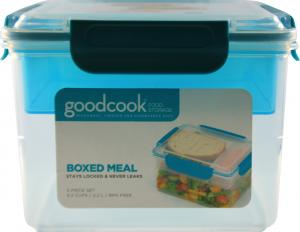 Good Cook Boxed Meal Food Storage Container 5 Piece Set