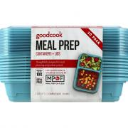 Good Cook Two Compartment Meal Prep Containers and Lids