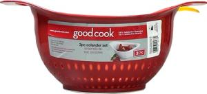 Good Cook 3-piece Colander Set