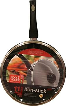 """Good Cook 12"""" Classic Chicken Fryer with Lid"""