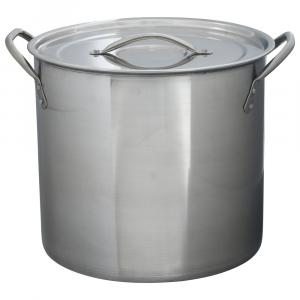 Bradshaw Stainless Steel 12 Quart Stock Pot with Lid