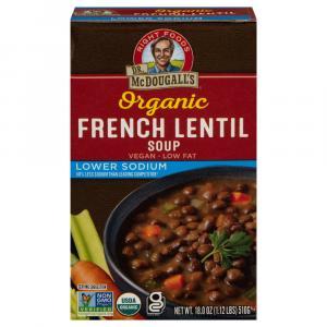Dr. Mcdougall's Organic French Lentil Lower Sodium Soup