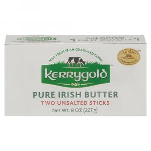 Kerrygold Pure Irish Butter Unsalted Sticks