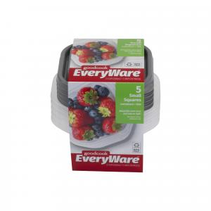 GoodCook EveryWare Small Square Containers
