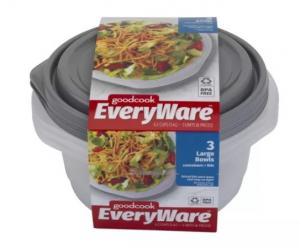 GoodCook EveryWare Large Round Containers