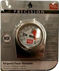 GoodCook Precision Refrigerator/Freezer Thermometer