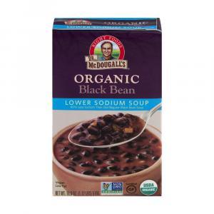 Dr. Mcdougall's Organic Black Bean Lower Sodium Soup