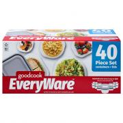 GoodCook EveryWare Assorted Containers and Lids