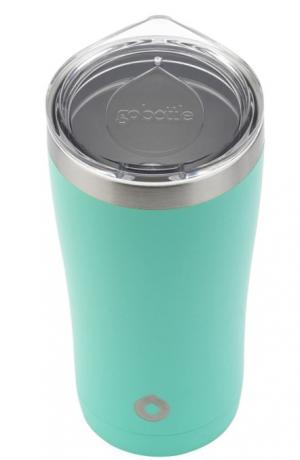Go Bottle Fuel Tumbler Stainless Steel Blue 20 Ounce