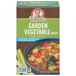 Dr. Mcdougall's Lower Sodium Garden Vegetable Soup
