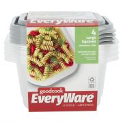 GoodCook EveryWare Large Square Containers