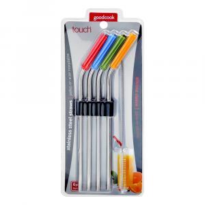 Sterling Silver Straw Set