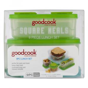 GoodCook Square Meals Lunch Set