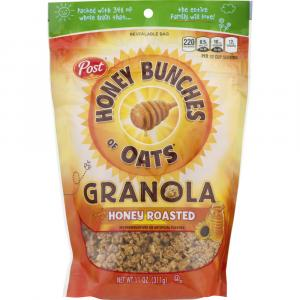 Post Honey Bunches of Oats Granola Honey Roasted Cereal