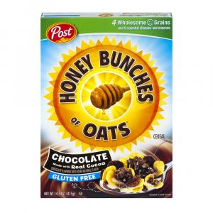 Post Honey Bunches Of Oats Gluten Free Chocolate Delight