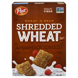 Post Shredded Wheat Bran Cereal