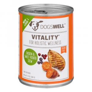 Dogswell Vitality Chicken And Sweet Potato Can Dog Food