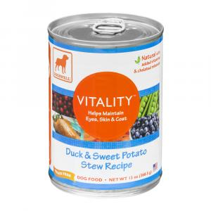 Dogswell Vitality Duck & Sweet Potato Stew Recipe