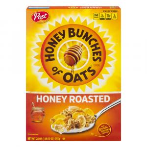 Post Honey Bunches of Oats Honey Roasted Cereal Value Size