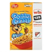 Post Golden Crisp Cereal