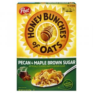 Post Honey Bunches Of Oats - Pecan & Maple Brown Sugar