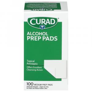 Curad Alcohol Prep Pads