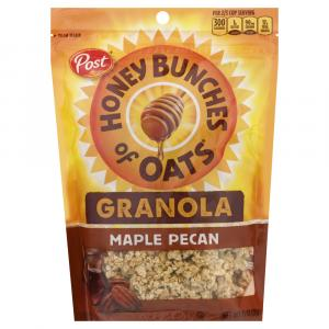 Post Honey Bunches Of Oats Granola Maple Pecan