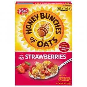 Post Honey Bunches Of Oats with Strawberries