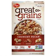 Post Selects Great Grains Crunchy Pecans Cereal